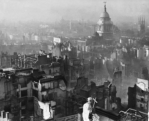 Bombing of St. Paul's Cathedral