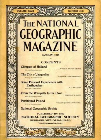 National Geographic premiers, 9/22/1888